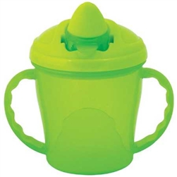 Heinz Baby Basics First Trainer Cup with Handles Green