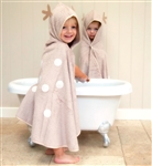 Cuddledry Supersoft Toddler Bath Towel - Cuddledeer