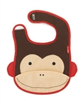 Skip Hop Zoo Folding Bib - Monkey