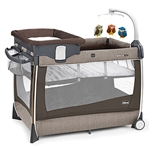 Chicco Lullaby Magic Porta Cot - Rattania