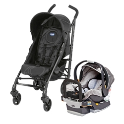 chicco lite way plus travel system stroller ombra infant car seat graphica. Black Bedroom Furniture Sets. Home Design Ideas