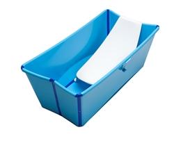 flexi bath blue with newborn support. Black Bedroom Furniture Sets. Home Design Ideas