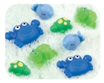 Playgro Bathtime Squirtees - Boy (8 Pieces) 3m+