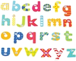 Boikido Magnetic  Lower Case Letters - 59pcs