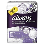 Always Discreet Adult Care Pants Large - 10