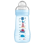 MAM Baby Bottle 270ml 2months+ in Riviera Blue