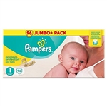 Pampers New Baby Premium Protection Jumbo 2-5kg 96