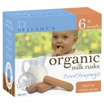 Bellamy's Organic Toothiepegs Teething Rusks (From 6 months)