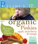 Bellamy's Organic Pinkies - Apple, Strawberry & Mango Fruit and cereal Bars 12m+