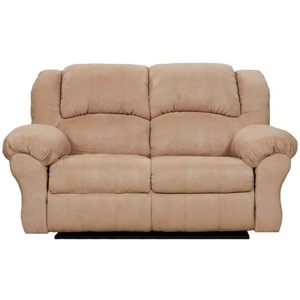 Camel Reclining Loveseat