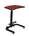 Brody Sit-Stand Desk, Cherry