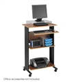 Muv Stand-up Desk, Cherry