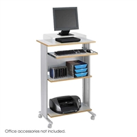Muv Stand-up Desk, Gray