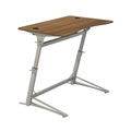 Verve Standing-Height Desk, Walnut