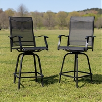 All-Weather Patio Swivel Outdoor Stools
