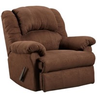 Chocolate Rocker Recliner
