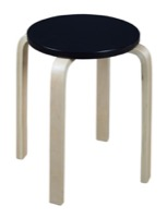 Niche Mia Bentwood Stool - Natural/Black
