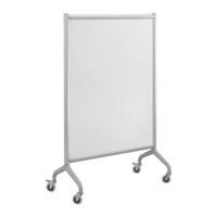 Rumba Training Table - Screen Whiteboard 42 x 54, Gray