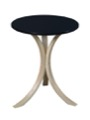 Niche Mia Bentwood Side Table - Natural and Black