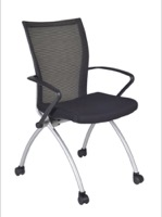 Regency Classroom Chair - Apprentice Nesting Chair - Black