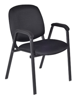 Regency Guest Chair - Ace Stack Chair (18 pack) - Midnight Black
