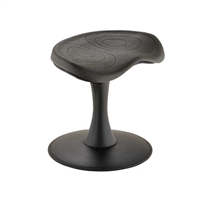 "Fidget Active Stool, 14""H, Black"