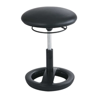 Twixt Active Seating Chair, Desk-Height, Black Vinyl