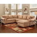 Mocha U-Shaped Sectional