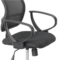 Loop Arms for Vue Mesh Extended-Height Chair (Set), Black