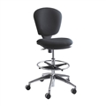 Metro Extended-Height Chair, Black