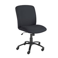 Uber Big and Tall High Back Chair, Black