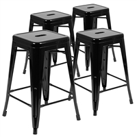 Metal Bar Height Stools