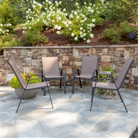 All-Weather Patio Swivel Outdoor Chairs