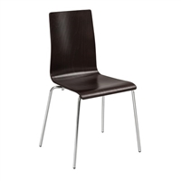 Bosk Bentwood Stack Chair (Qty. 2), Esspresso
