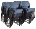 Regency Seating - Zeng Stack Chair (50 pack) - Blue