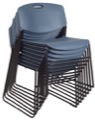 Regency Seating - Zeng Stack Chair (8 pack) - Blue