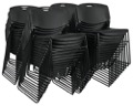 Regency Seating - Zeng Stack Chair (50 pack) - Black