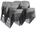 Regency Seating - Zeng Stack Chair (50 pack) - Grey