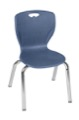 "Regency Classroom Chair - Andy 15"" Stack Chair - Navy Blue"