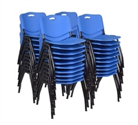 Regency Guest Chair - M Stack Chair (40 pack) - Blue