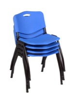 Regency Guest Chair - M Stack Chair (4 pack) - Blue