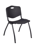 Regency Guest Chair - M Stack Chair - Black