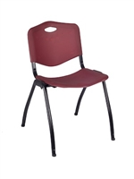 Regency Guest Chair - M Stack Chair - Burgundy
