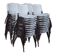 Regency Guest Chair - M Stack Chair (40 pack) - Grey