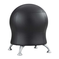 Zenergy Ball Chair, Black Vinyl