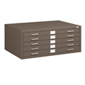 "5-Drawer Steel Flat File for 36"" x 48"" Documents"