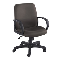 Poise Executive Mid Back Seating, Black