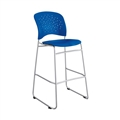Reve Bistro-Height Chair Round Back, Blue