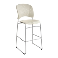Reve Bistro-Height Chair Round Back, Latte