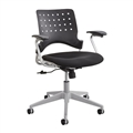 Reve Task Chair Square Back, Black